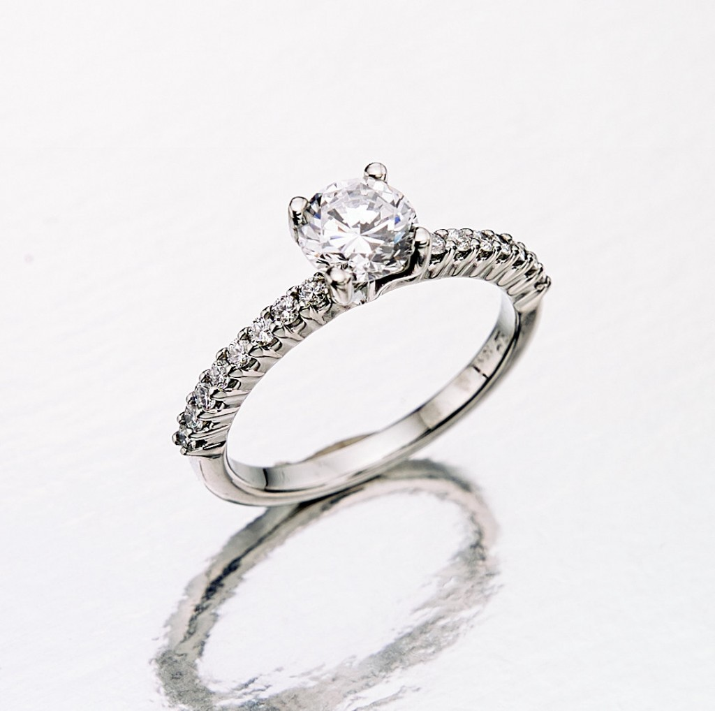custom rings engagement wedding design designed six delaney era diamond claw jewellery wg platinum solitair vancouver ring yg