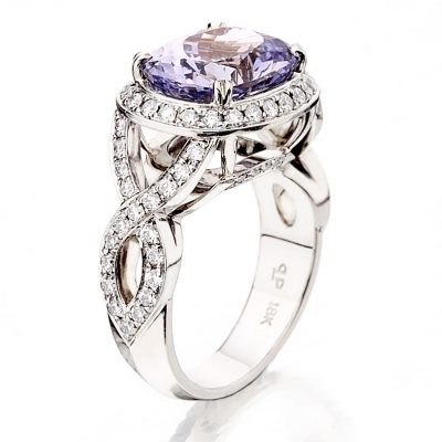 Lavender Spinel