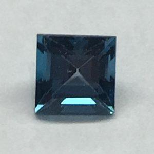 Square Blue Topaz