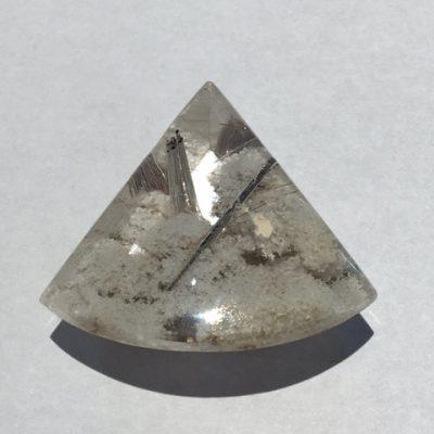 Triangle Rutilated Quartz
